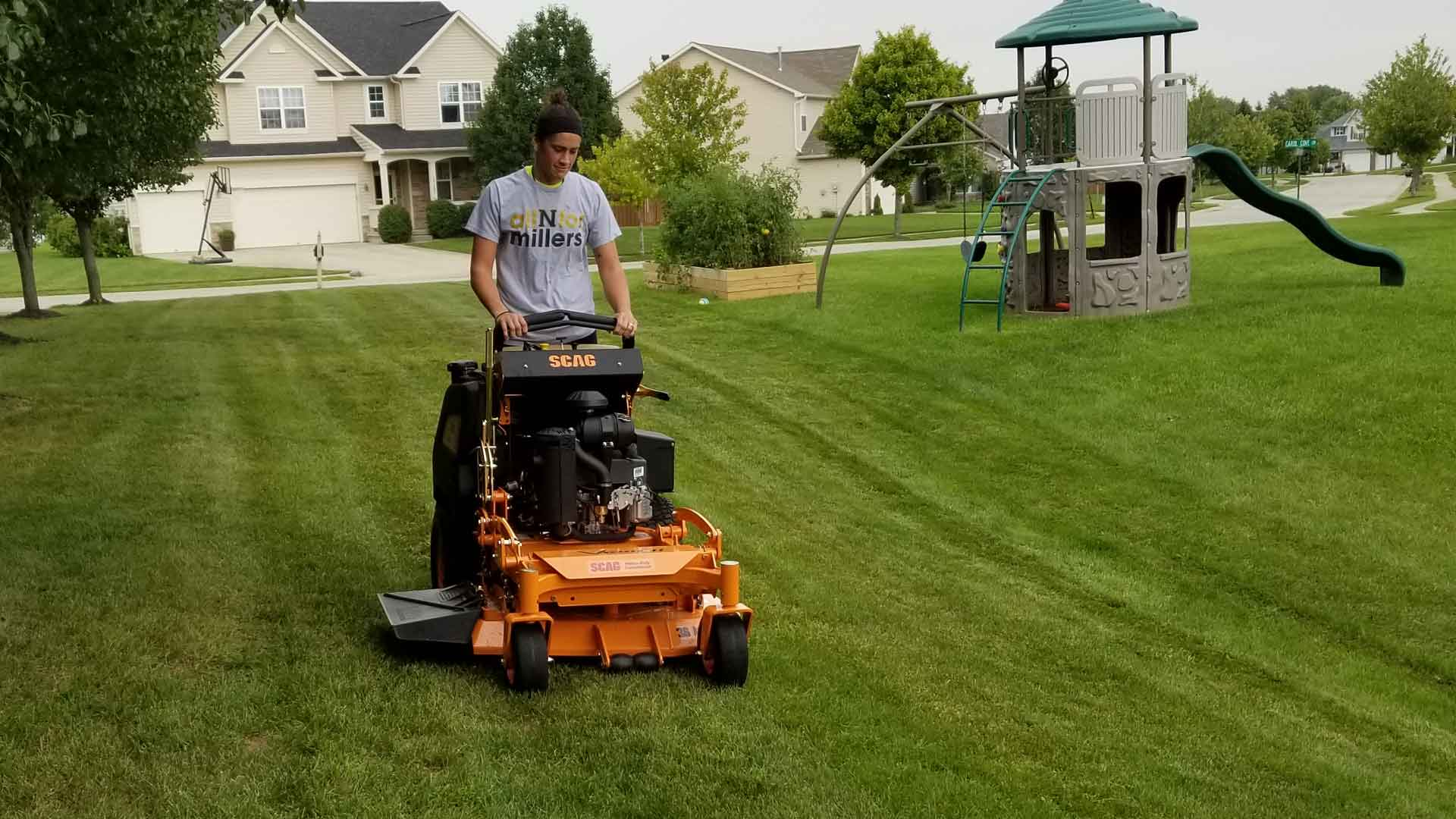 Path to a career in lawn care and landscaping.